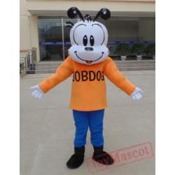 Animal Cosplay Cartoon Animal Orange Little Dog Plush Mascot Costume