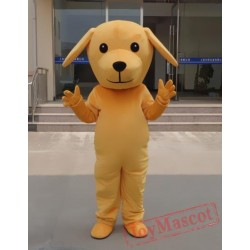 Animal Cosplay Cartoon Little Yellow Dog Plush Mascot Costume