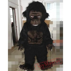 Animal Cartoon Plush Orangutan Mascot Costume