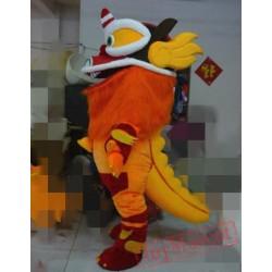 Animal Cartoon Lion Mascot Costume