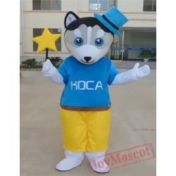 Animal Cartoon Cosplay Little Wolf Mascot Costume