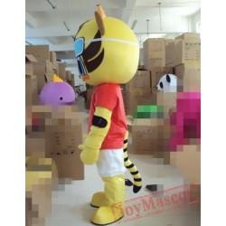 Cartoon Cosplay Animal Tiger Mascot Costume