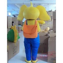 Animal Cartoon Little Elephant Mascot Costume