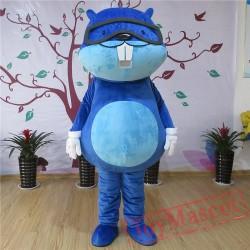 Beaver Mascot Costume For Adullt & Kids