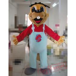 Big Mouth Dog Mascot Costume For Adullt & Kids