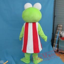 Big Eye Frog Mascot Costume For Adullt & Kids