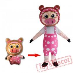 Enterprise Mascot Costume For Adullt & Kids