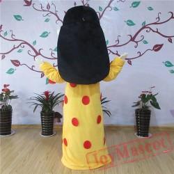 Arab Women Mascot Costume For Adullt & Kids