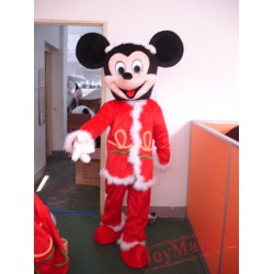 Disney Christmas Mickey Mouse Mascot Costume