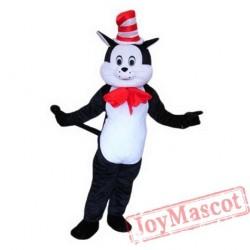 Black Magic Cat Mascot Costume
