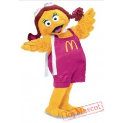 Birdie the Early Bird Mascot Costume