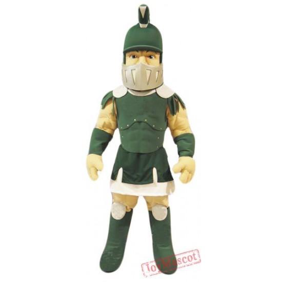 Green Spartan Titan Trojan Mascot Costume