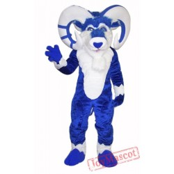 Blue Ram Mascot Costume