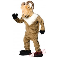 Adult Super Deluxe Ram Mascot Costume
