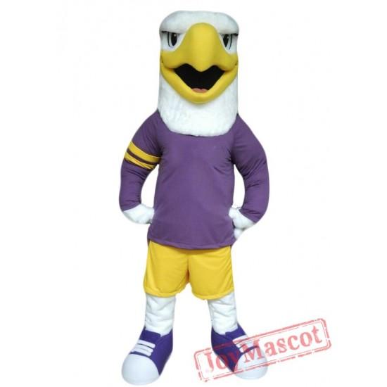 College Hawk Mascot Costume