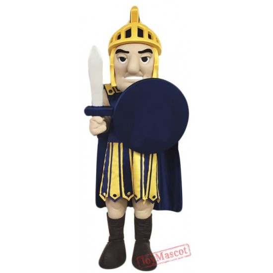 High School Warrior Mascot Costume