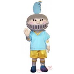 Little Boy Knight Mascot Costume