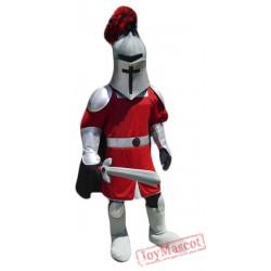 Sword Knight Mascot Costume
