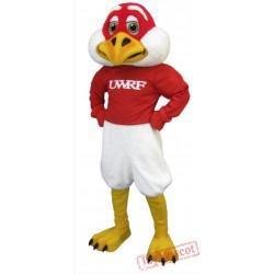Freddie Falcon Mascot Costume