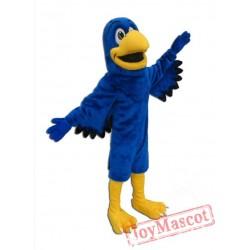 Blue Falcon Mascot Costume