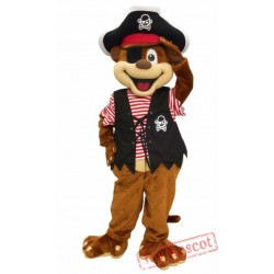 Pirate Monkey Mascot Costume