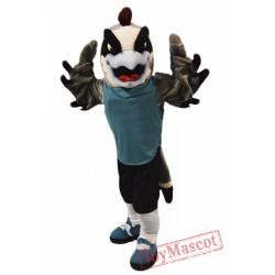 Sport Falcon Mascot Costume