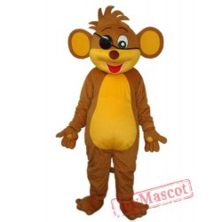 Revised Version Of Pirate Monkey Mascot Adult Costume