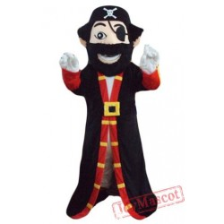 Beard Pirate Captain Mascot Costume