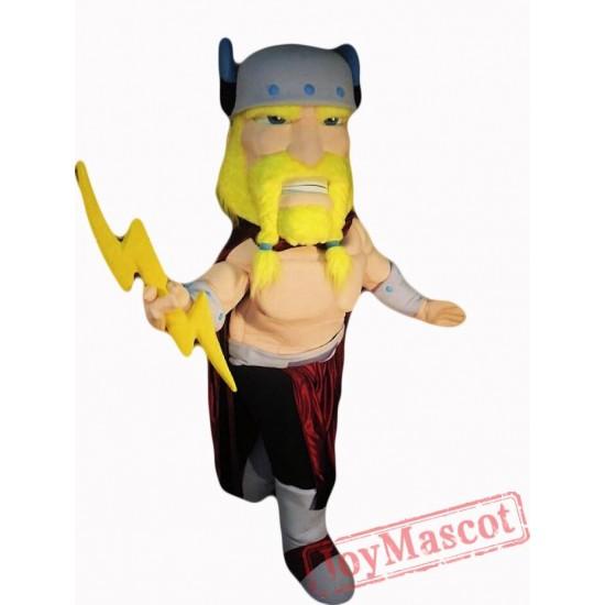 Thor Viking Mascot Costume