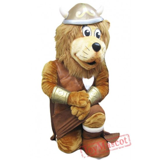 Viking Lion Mascot Costume