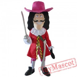 Vikings Pirate Captain Hook Mascot Costume Fancy Dress