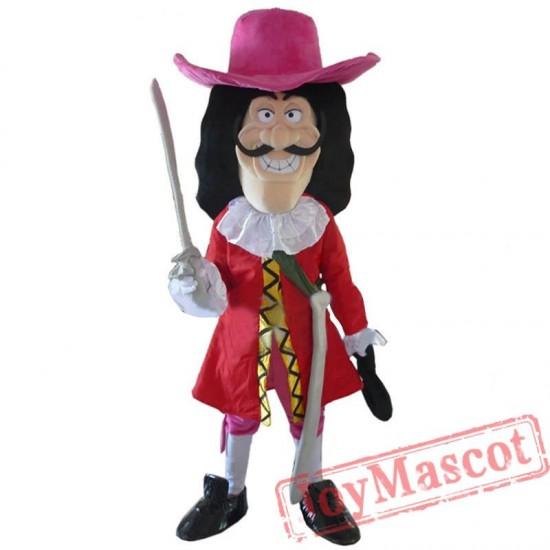 Vikings Pirate Captain Hook Mascot Costume Fancy Dress