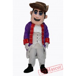 People Patriot Mascot Costume On Clearance