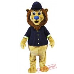 Baseball Sport Lion Mascot Costume