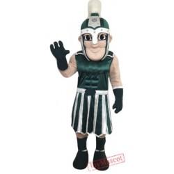 Green Crusader Mascot Costume