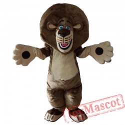 Lion Mascot Costume Cartoon Outfit Suit
