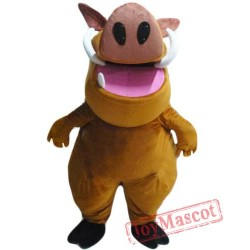 Cartoon Lion King Punba Mascot Costume
