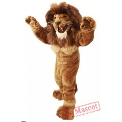 Lion Mascot Costume Power Lion Costume For Adult