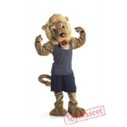 College Lion Mascot Costume