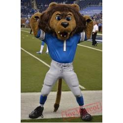 Detroit Lions Mascot Roary Mascot Costume