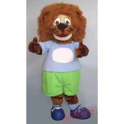 Animal Lion Mascot Costume