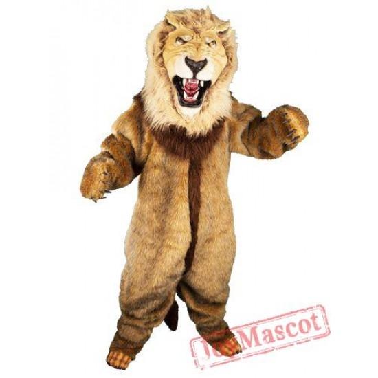 Animal Lion Mascot Costume