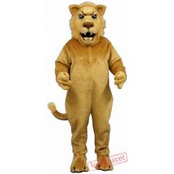 Leslie Lion Mascot Costume