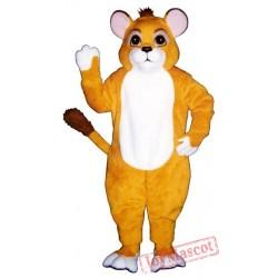 Lion Cub Mascot Costume