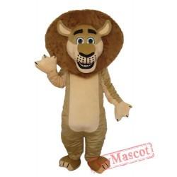 Lion In Madagascar Mascot Adult Costume