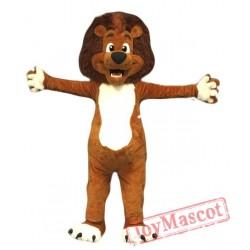 Professional Quality Lion Mascot Costume