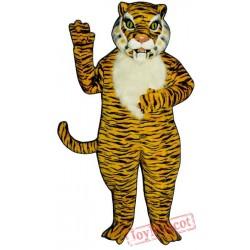 Realistic Tiger Mascot Costume