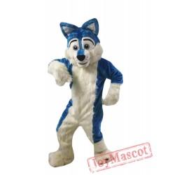 Blue Wolf Mascot Costumes