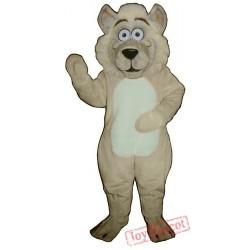 Baby Wolf Mascot Costume