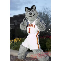Gey Wolf Sport Football Team Mascot Costumes